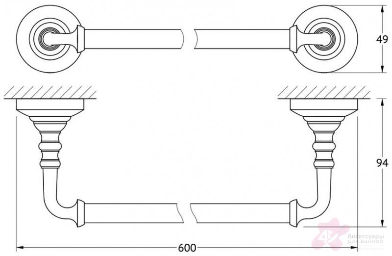 Полотенцедержатель 3SC