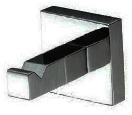 Крючок ALL.PE Musa  MU016 CR 5,5 х 4 х 4 см хром