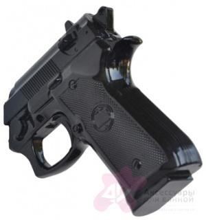 Вешалка Antartidee Calibronove  1101 NG`Пистолет` цвет черный