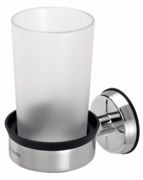 Держатель стакана Brabantia  399947 одинарный Brilliant Steel (сталь полированная