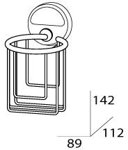 Держатель FBS Luxia  LUX 051 для освежителя воздуха хром
