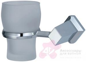 Стакан Wasserkraft Aller K-1100  K-1128 подвесной хром/стекло прозрачное