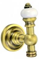 Крючок Aksy Bagno Fantasia Antique  8416 A одинарный бронза