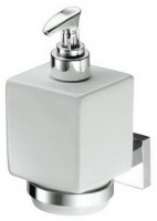 Дозатор ALL.PE Musa  MU108 CR для жидкого мыла хром /белая керамика