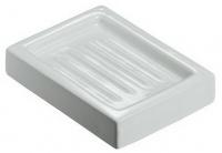 Мыльница  ALL.PE Musa  MU150 CR настольная керамика белая