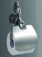Держатель  туалетной бумаги Art&Max Athena  AM-0619-T настенный серебро