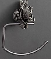 Полотенцедержатель  Art&Max Tulip  AM-0826-T полукольцо серебро