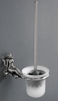 Eршик  Art&Max Fairy  AM-0981-T для унитаза настенный серебро