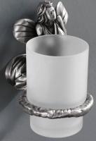 Стакан  Art&Max Fairy  AM-0984-T настенный серебро