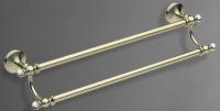 Полотенцедержатель  Art&Max Antic Crystal  AM-2648SJ-Cr двойной хром