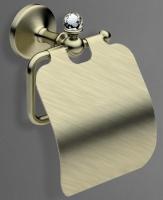Держатель туалетной бумаги  Art&Max Antic Crystal  AM-2683SJ-Cr настенный хром