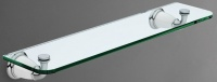 Полка стеклянная  Art&Max Bianchi  AM-3682BW хром