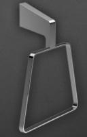 Полотенцедержатель  Art&Max Techno  AM-4180 кольцо хром