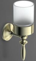 Стакан  Art&Max Bohemia  AM-4268-Cr настенный хром