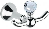 Крючок Bagno&Associati Folie  FS 245.51 SW двойной хром / Swarovski
