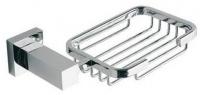 Мыльница решетка Bandini Ice Cube  6995/IC подвесная хром