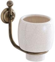 Стакан Carbonari Teresa Anticata  PBTE ANT BR подвесной античная бронза / керамика белая