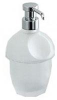 Дозатор для мыла Colombo Melo   B9305.000 настольный хром / стекло матовое
