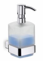 Дозатор для мыла Emco Loft  0521 001 01 настенный хром /стекло матовое