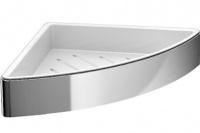 Полка-решетка Emco Loft  0545 001 03 для душа хром/белый