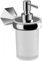 Дозатор для мыла Jika Memory  3833G.2.004.000.1 настенный хром / стекло матовое