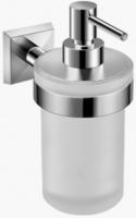 Дозатор для мыла Jika Classic  3833L.2.004.000.1 настенный хром / стекло матовое