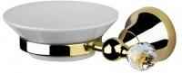 Мыльница Performa Per15M-03S2  25800 CR SW настенная хром/Swarovski/керамика белая