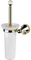 Ерш для туалета Performa Per15M-02  25825 CR SW настенный хром/swarovski/керамика белая