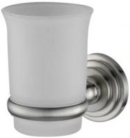 Стакан Wasserkraft Ammer K-7000  K-7028 подвесной хром матовый /стекло прозрачное