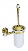 Подробнее о Ерш для туалета Aksy Bagno Fantasia Antique  8405 A настенный бронза  / керамика белая