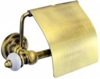 Подробнее о Бумагодержатель Aksy Bagno Fantasia Antique  8411 A закрытый  бронза