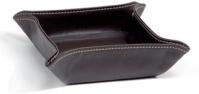 Подробнее о Лоток Andrea House  AX6833 для аксессуаров 16 х 16 см коричневый (экокожа