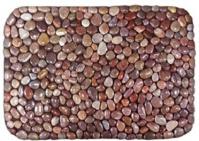 Подробнее о Коврик Andrea House  ФР-00000605 для ванны 76 х 51 см цвет красный