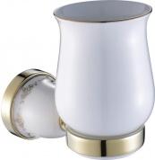 Подробнее о Стакан Art&Max Felicia aрт. AM-F-5503-BR настенный хром / керамика белая
