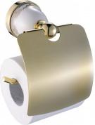 Подробнее о Держатель туалетной бумаги  Art&Max Felicia арт. AM-F-5507-DO c крышкой золото
