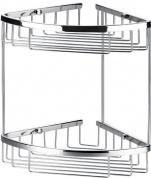 Подробнее о Полка Art&Max AM-F-8961-CR решетка угловая 2-х ярусная хром
