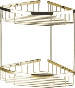 Подробнее о Полка Art&Max AM-F-8961-DO решетка угловая 2-х ярусная золото