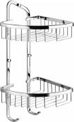 Подробнее о Полка Art&Max AM-F-8962-CR решетка угловая 2-х ярусная хром
