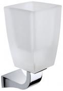 Подробнее о Стакан Art&Max Soli aрт. AM-G-6631 настенный хром / стекло матовое