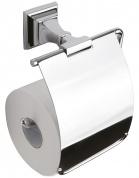 Подробнее о Держатель туалетной бумаги  Art&Max Zoe арт. AM-G-6835 c крышкой хром