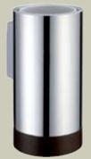 Подробнее о Стакан Bagno&Associati Ambiente Elite wenge  AX 142 настенный хром / wenge