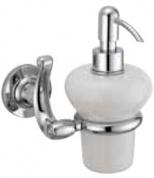 Подробнее о Дозатор для жидкого мыла Bagno&Associati Opera  OP 129 92 настенный бронза / керамика белая
