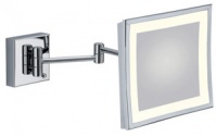 Подробнее о Зеркало  Bagno&Associati  SP 802.51 косметическое h23 см увеличительное (3X настенное с LED подсветкой хром