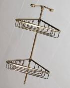 Подробнее о Полка-решетка Bandini Antica Classic  6992/06 CR двойная угловая хром