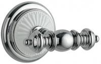 Подробнее о Крючок Boheme Vogue Blanco  10136 двойной   хром / керамика белая