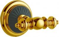 Подробнее о Крючок Boheme Palazzo Nero  10156 двойной   золото / керамика черная