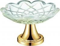Подробнее о Мыльница Boheme Royal Crystal 10202 настольная  золото / хрусталь