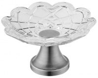 Подробнее о Мыльница Boheme Royal Crystal 10203 настольная  хром / хрусталь