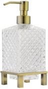 Подробнее о Дозатор жидкого мыла Boheme Royal Crystal 10224 настольный  бронза / хрусталь