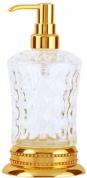 Подробнее о Дозатор для мыла Boheme Imperiale  10410 настольный золото /хрусталь